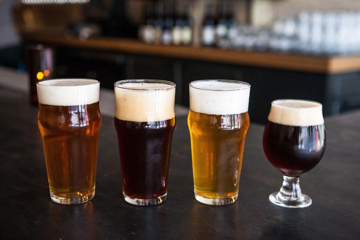 DTLA Barrel Down beers