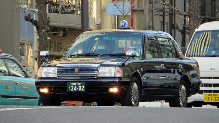 Flickr Mic tokyo taxi