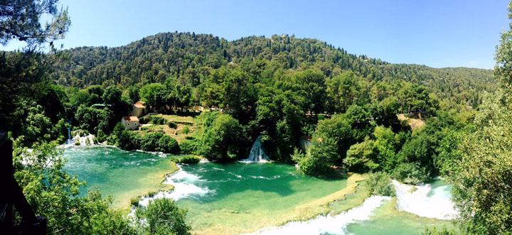 Krka National Park Croatia mountains