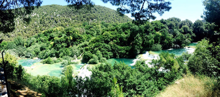 Krka National Park Croatia panoramic