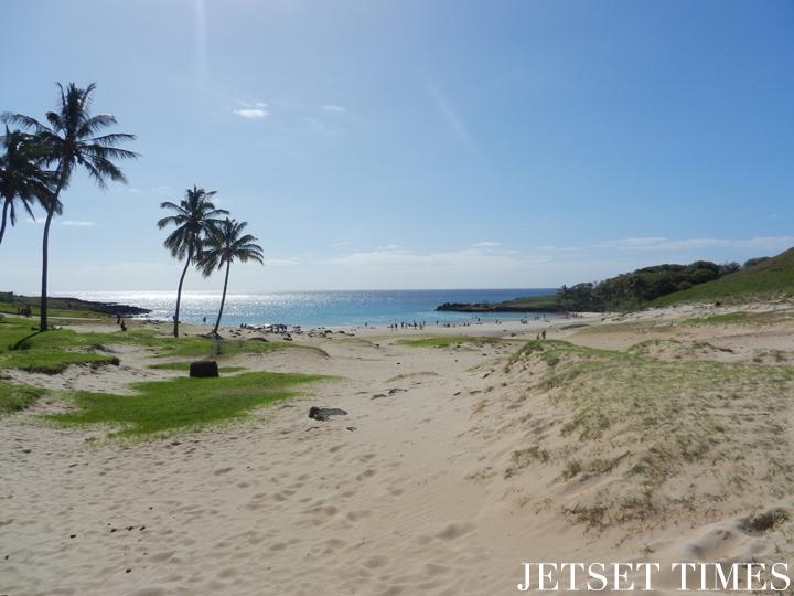 31 Anakena beach. Easter Island
