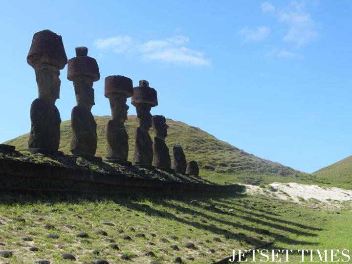 32Ahu Nao-Nao. Easter Island