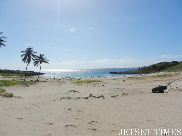 5 Anakena beach, Easter Island
