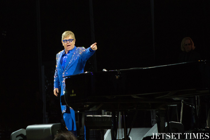 Outisde Lands 2015 Elton John