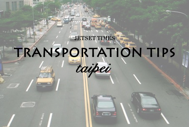 Taipei tranportation tips