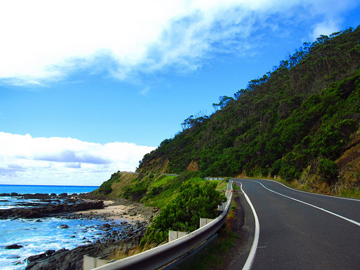 Flickr Shamefullyso Australia road trip the blue stretch