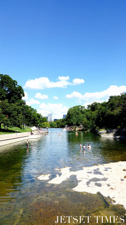 Top 8 swimming holes to beat the texas heat in around austin jetset times catalog of cool for Barton swimming pool timetable