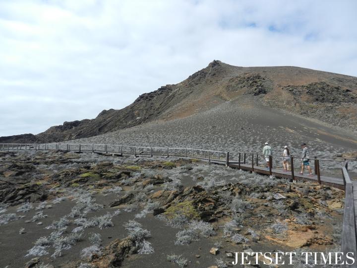 4 Trekking on Isla Bartolomé Galápagos Islands Ecuador