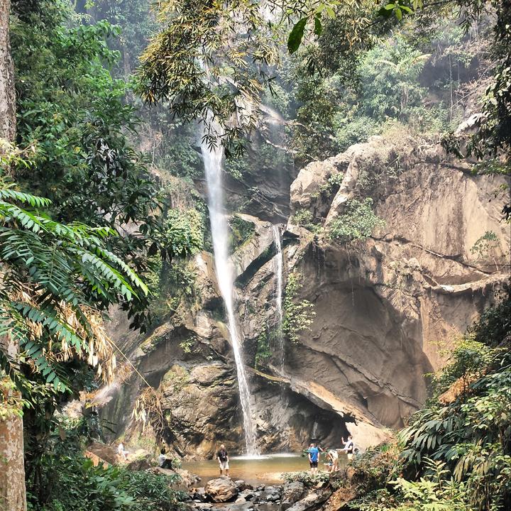 Louis Chiang Mai Thailand waterfall