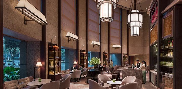 Shangri-La Far Eastern Plaza Hotel Lobby Court