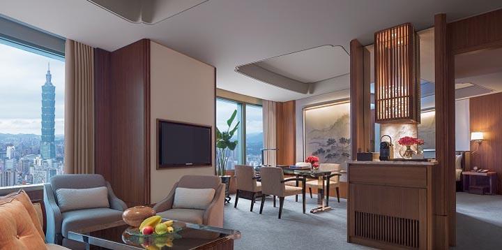 Shangri-La Far Eastern Plaza Hotel Plaza Suite