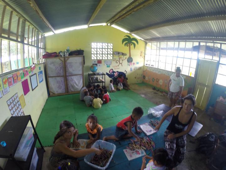 Carolina Gonçalves Give and Surf volunteer class
