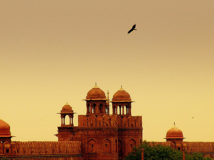 Flickr Saad Akhtar Red Fort Delhi India