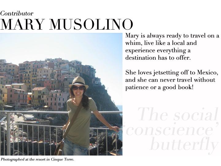 Mary Musolino contributor profile Taipei