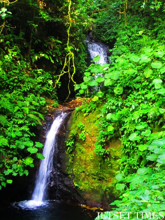 Monteverde, Costa Rica waterfall