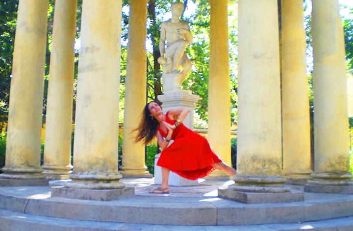 Shari Florence Italy Yoga