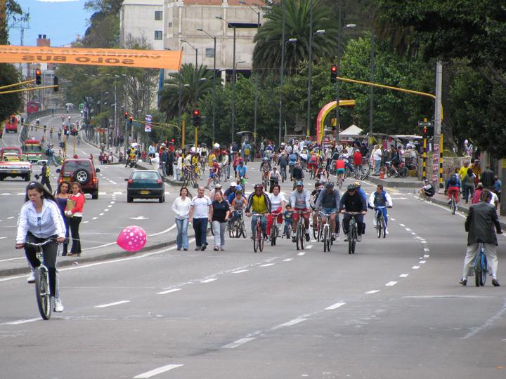 8 Ciclovía, Bogota Colombia