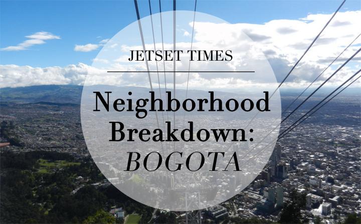 Bogota Neighborhood Breakdown