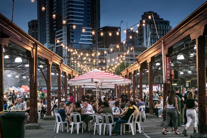Facebook Queen Victoria Market evening