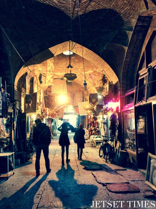 Isfahan Iran bazaar