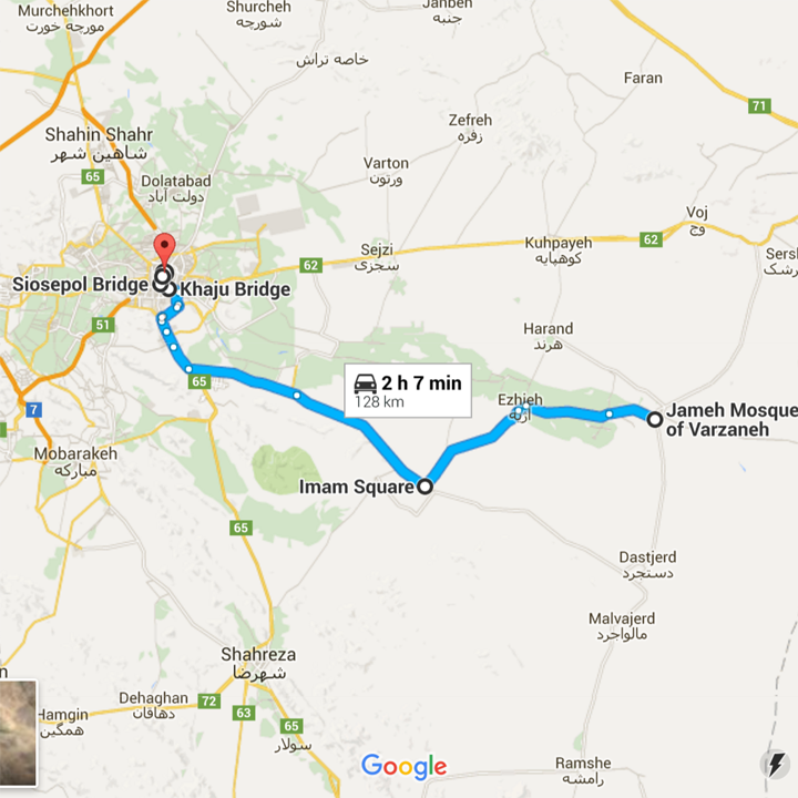 map Isfahan Iran must-see top 5 - Jetset Times | Catalog of Cool Places