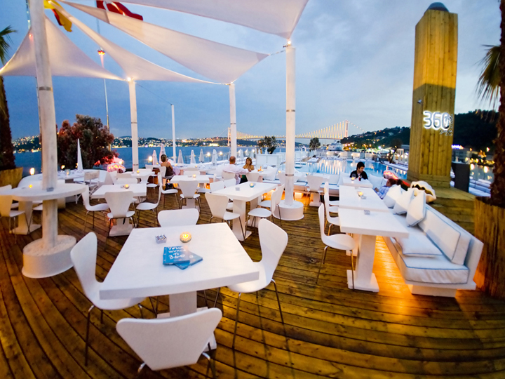 360 Istanbul Turkey tent seating