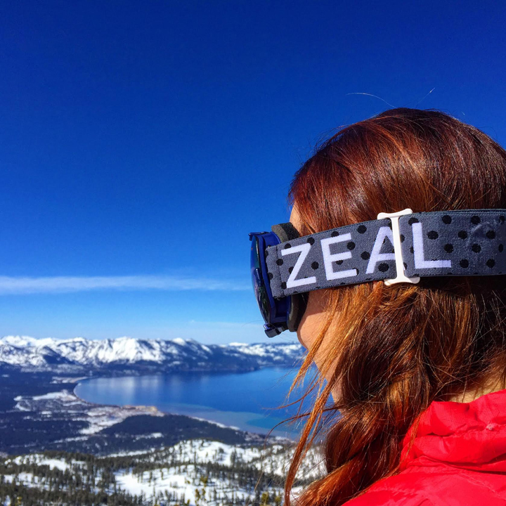 Valerie ski zeal goggles