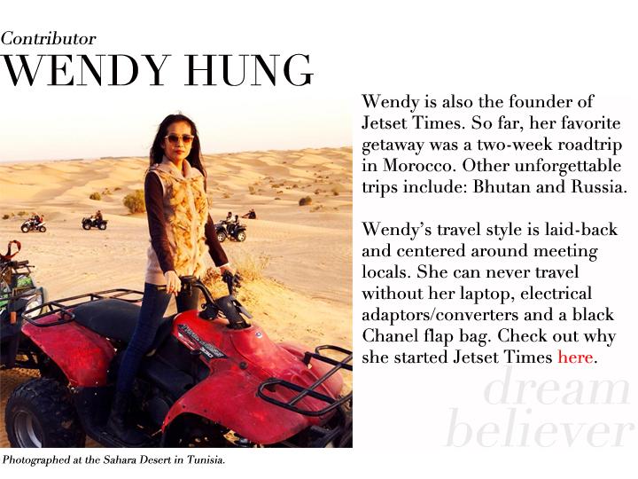 Wendy Hung contributor profile Tunisia