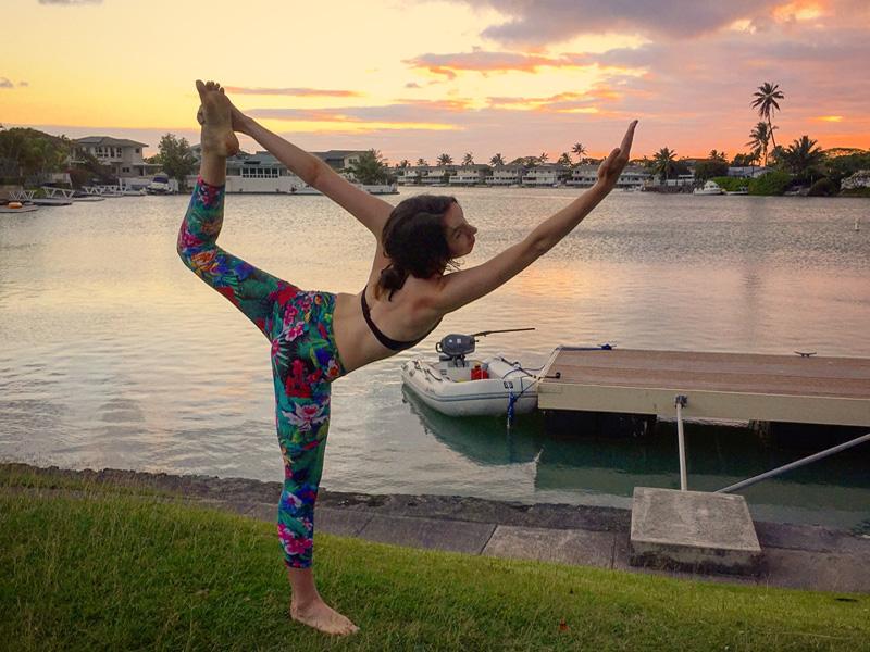 Alex Oahu fitness yoga