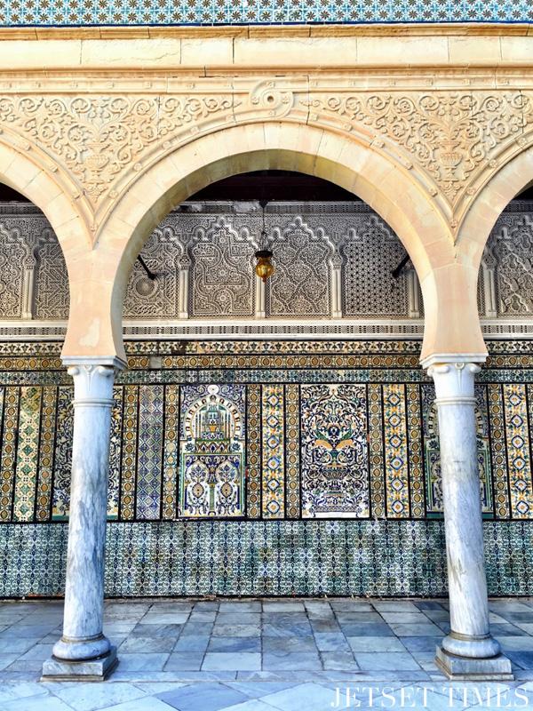 Kairouan mosque of the Barber mosaic
