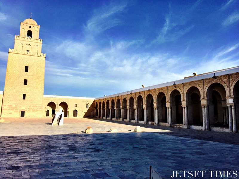 Kairouan the grand mosque