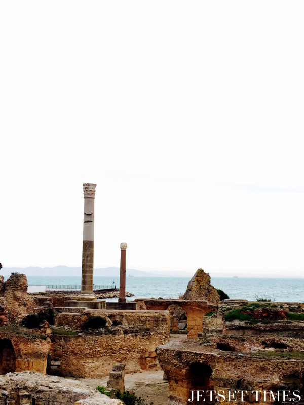 Tunis Tunisia Baths of Antoninus 1
