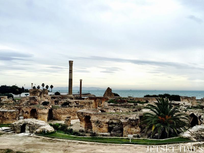 Tunis Tunisia Baths of Antoninus