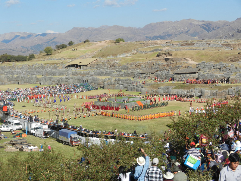 21 Ceremony at Sacsayhuaman