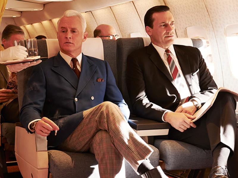 Hollywoodreporter.com Mad Men business travel