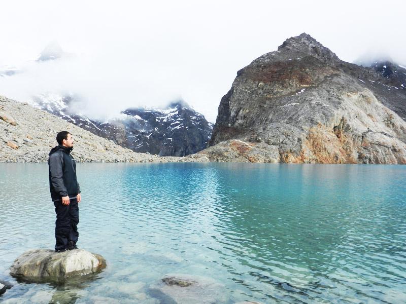 5 Me at Lago de los Tres at foot of Mt. Fitz Roy (El Chaltén)