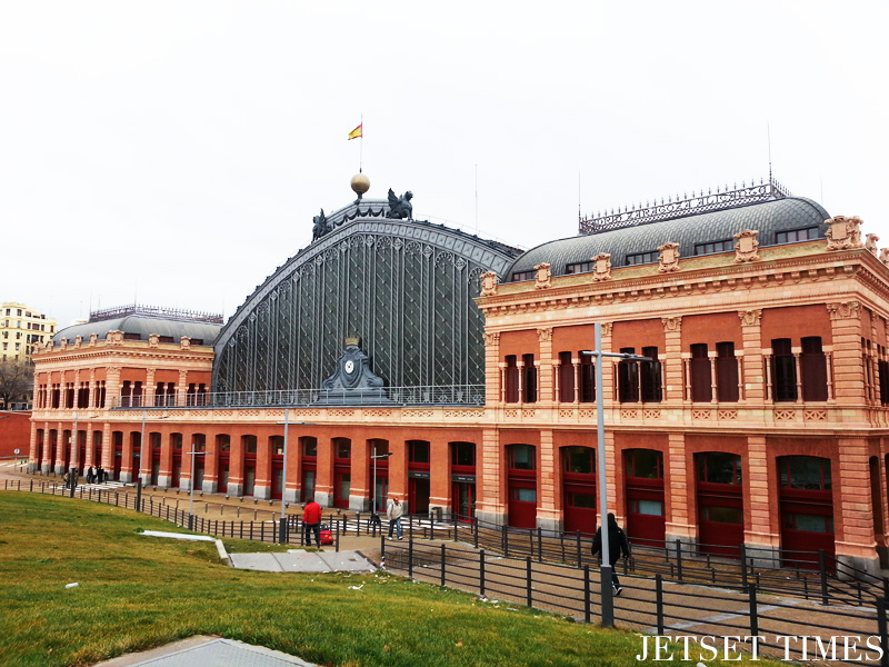 Madrid, Atocha Train Station