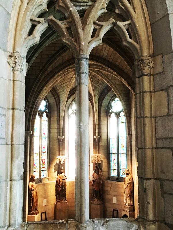 Cloisters Museum New York interior