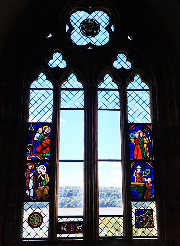 Cloisters Museum New York window