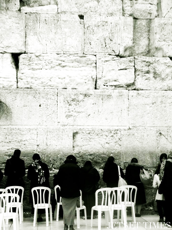 Wailing Wall has been the site for Jewish prayer and