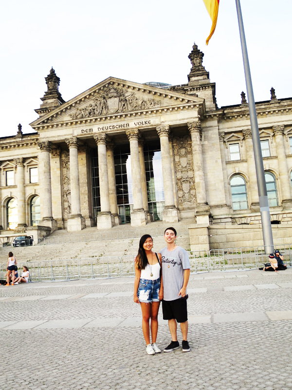 Reichstag together.