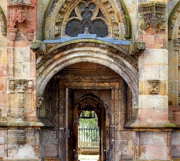 Rosslyn Chapel, Edinburgh.