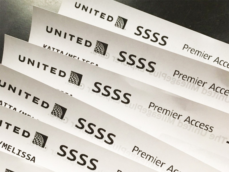 Image result for ssss on boarding pass