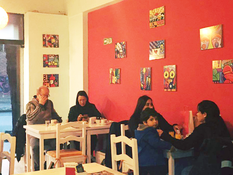 free wi-fi Olegario Cafe