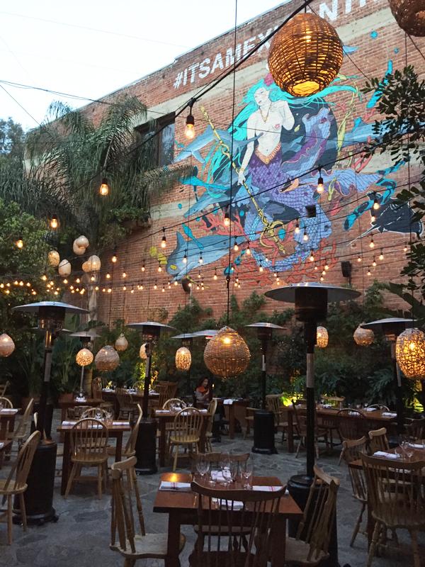 best patio in la