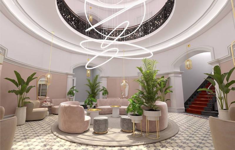 Virgin Hotels Lobby