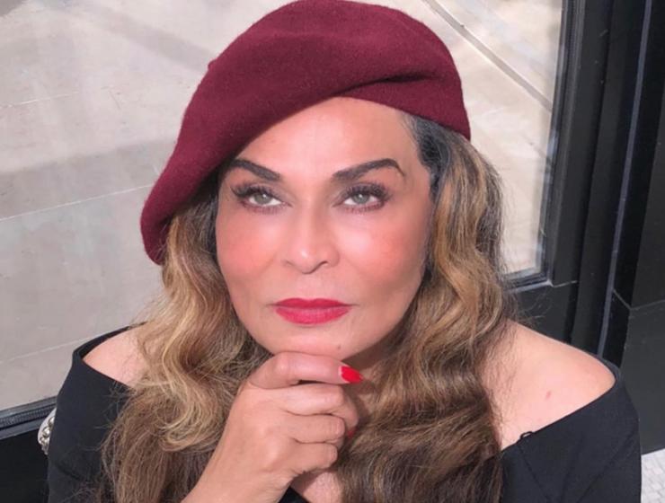 Tina Knowles Paris