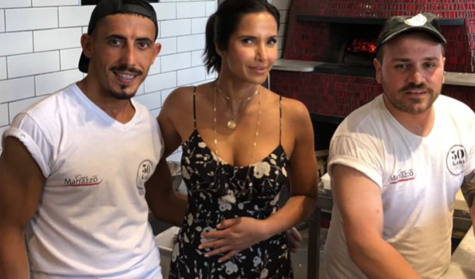 Padma Lakshmi Best Pizza