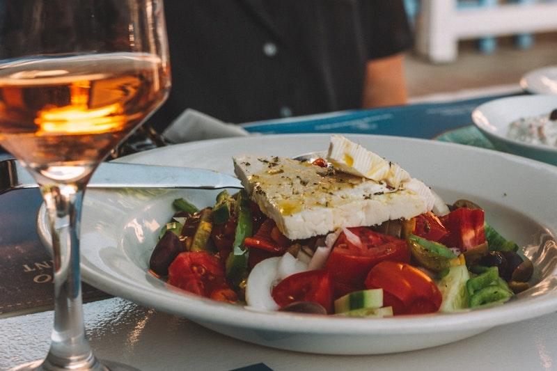 feta cheese greek salad