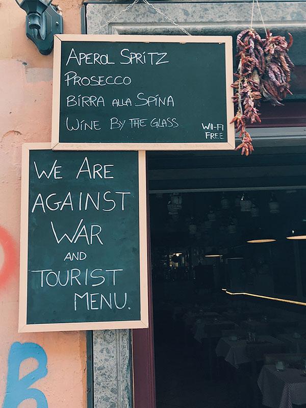 aperitivos Rome